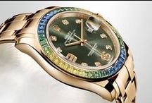 Watches for Him / Designer men's watches and timepieces from Rolex, Cartier, Panerai, TagHeuer, IWC, Omega, Longines, Mont Blanc, Corum, RED8USA and Patek Philippe. / by C.D.Peacock