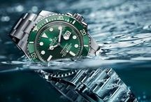 ROLEX / Rolex watches and timepieces for both men and women alike!! / by C.D.Peacock