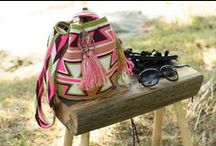 Colombian crocheted Wayuu bags boho bags / These trendy boho bags are indigenous to Colombia. Handmade by the Wayuu tribe these beautiful bags are extremely durable and well made!