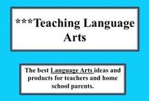 ***Teaching Language Arts / Ideas and products that make teaching language arts more fun, interesting, easier, and more challenging for the teacher and the students.  Visit me at my TpT store: http://www.teacherspayteachers.com/Store/Judith-M-Darling-Razzle-Dazzle-Learning