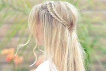 Hair Styles / beautiful hair / by Emilie Morlandhy Chea