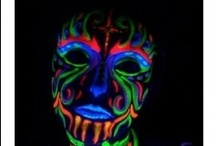 Neon / Glow in the dark Themed Party Ideas
