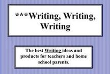 ***Writing, Writing, Writing / This board is dedicated to the fact that the more students write the better writers they become.  The key is allowing students to write without fear of failing, then they will want to write often and more.  Please have fun posting all about writing.  Visit me at my TpT store:   http://www.teacherspayteachers.com/Store/Judith-M-Darling-Razzle-Dazzle-Learning