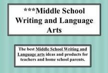 ***Middle School Writing and Language Arts / This is the place for middle school writing ideas, prompts, rubrics, and scoring guides that encourage independent learning.  They should be designed to reduce grading time and paperwork that goes with teaching writing and language, while turning students on to writing and language arts.  The rule is to be someone that loves teaching middle school, and encourages independent learning.  Visit me at my TpT store:   http://www.teacherspayteachers.com/Store/Judith-M-Darling-Razzle-Dazzle-Learning