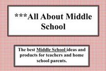 ***All About Middle School / Here is a place where you can pin anything about teaching middle school to make the job easier, more fun and interesting.  Any subject, any ideas, any thoughts.Visit me at my TpT store:   http://www.teacherspayteachers.com/Store/Judith-M-Darling-Razzle-Dazzle-Learning
