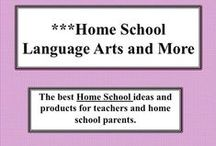 ***Home School Language Arts / Student directed language arts materials turn students on to learning and relieve parents of the stress of teaching language arts/writing.  Please remember just post materials that help parents teach language arts. Visit me at my TpT store:   http://www.teacherspayteachers.com/Store/Judith-M-Darling-Razzle-Dazzle-Learning