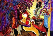 Art - Ethnic / #art #ethnic / by Interior Compositions, LLC