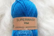 Yarn: Vital Superwash / Hjertegarn - 100% pure new wool. Medium-thick yarn suitable for many things. Can be washed on wool-program 30-40 degrees. Order online at alafoss.is