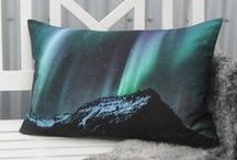 Lagður Cushion Covers / Icelandic Cushion Covers with photographs of Icelandic nature