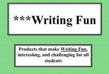 ***Writing Fun! / Teaching and learning writing should be fun and non stressful for teachers and students, so please pin materials that do just that, and enjoy.   Visit me at my TpT store:   http://www.teacherspayteachers.com/Store/Judith-M-Darling-Razzle-Dazzle-Learning