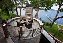 Backyard Patio / Minnesota Luxury Real Estate - Kris Lindahl, Re/Max Results