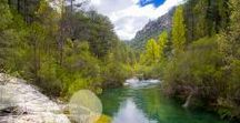 """Alto Tajo Natural Park / The Alto Tajo Natural Park is known for its open sky, river canyons, turquoise blue rivers and masive forests. All information for planning your trip is in www.qnatur.com  """"A geological and botanical paradise, especially for nature and adventure sports lovers"""""""