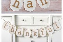 Thanksgiving / Thanksgiving recipes, tablescapes and decorating ideas