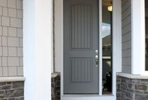 Doors / Inspired by all kinds of interior doors - paint color, design, placement