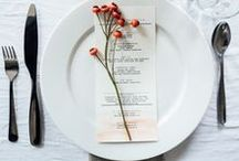 Setting The Table / Inspiration and ideas for decorating tabletops and creating table scapes
