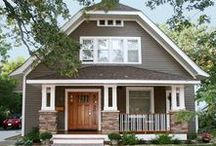 Exterior Ideas / Inspiring home exteriors to help design, update or plan your own home's exterior