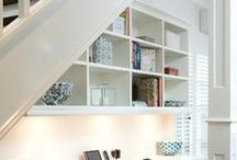 Small Space Ideas / Inspiration and ideas for decorating and designing small spaces