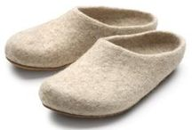 Felt: Slippers / Time to make something for the family