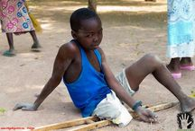 Chad deporte y arte solidario 2013 / Viaje a el Chad (África) con www.Deporteyartesolidario.tv en labor humanitaria