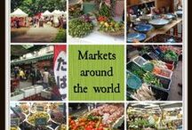 Markets / Markets in the world: farmers' markets, flea markets, Christmas markets, etc.