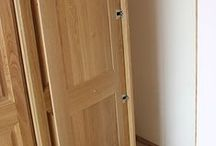 Seceret door built in to wardrobe / Would you love to have a secret door built into your wardrobe that leads to your very own bathroom?  It's like being in Narnia. One bespoke job consisted of just this and what fun we had designing it.  #Bespoke #Wardrobe   #SecretDoor  #Narnia
