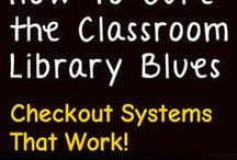 Classroom Library / Great ideas for your own classroom library.