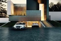 Car Ports / Luxurious garages and car ports with designed by the best, some things you never thought possible