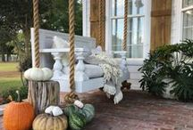Fall Love / Fall decorations, crafts, food and entertaining for Halloween and Thanksgiving.