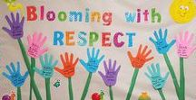 Classroom Decorating Ideas / Classroom decorating ideas: banners, borders, trimmers, cutouts, accents, name tags, and more!