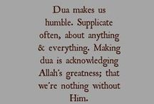 DUAs<3 & much more... / something to include in your daily life.