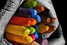 Photo - Colours / Colours. colors, red, green, blue, black, white, yellow, orange, purple