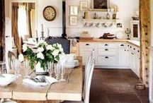 Kitchen Magic / Ideas for kitchen remodeling and updates using farmhouse and cottage elements.
