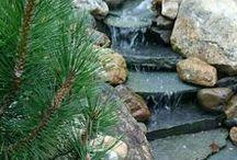 puutarhan vesiaiheet ja altaat