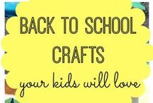 Back-to-School! / Get ready for the upcoming school year with these awesome crafts, recipes, and tips!