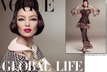 Vogue Italia January 2013 : Fei Fei Sun by Steven Meisel