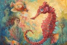 Seahorses / by Lisa Gambino