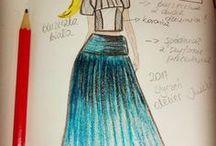 Fashion desinger by Iwakki / Designing and sewing by Iwakki