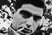 "Photo by Robert Capa / ""It's not enough to have talent, you also have to be Hungarian"".........................................  ""I hope to stay unemployed as a war photographer till the end of my life. """