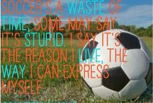 Soccer / It's soccer... The best sport ever! / by Abi Holmquist