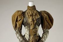 1890s Clothing / Women's clothing from the 1890s