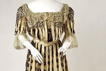 1900s Clothing / Women's fashions from 1900 through 1910