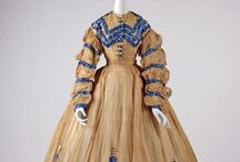 1860s Clothing / Women's fashions from the 1860s