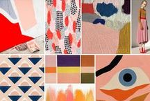 Colour mood board / Colour and design trends
