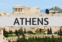 Athens: Things to Do and See / There are so many things to do and see when you visit Athens, the capital of Greece. As a local, I'm pinning pins that will help you with your travel plans to my adopted city!