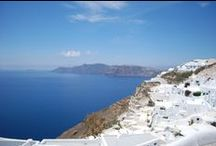 Santorini / One of the loveliest islands in Greece: Santorini.