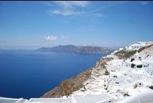 Santorini / One of the loveliest islands in Greece: Santorini.