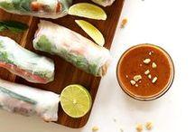 food + drink / tasty food + beverages