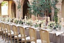 Table Setting by La Rosa Canina FIRENZE / Table Floral arrangements