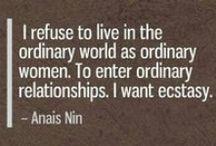 ANAIS NIN / by J Elaine Jackson