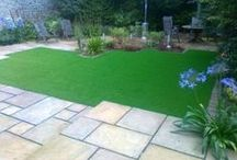 Back Gardens / We are Ireland's first and leading supplier/ installer of artificial grass to the domestic and creche market.  We can design your garden layout, including drawings, at no extra cost - all part of the service.